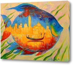 Картина Волшебная рыба
