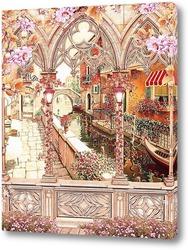 Постер романтика Венеции