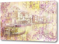 Постер Весна в Венеции