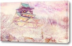 Постер Замок в Осаке