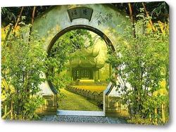 Постер  Китайский сад