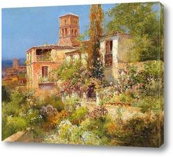 Картина Картина художника XIX века