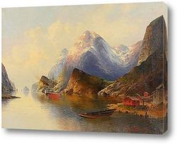 Картина Картина художника 19-20 веков, пейзаж