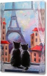 Картина Парижане