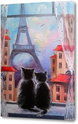 Постер Парижане