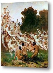 Картина Ореады [Les Oreades] 1902