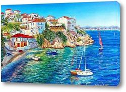 Картина Белые домики Греции