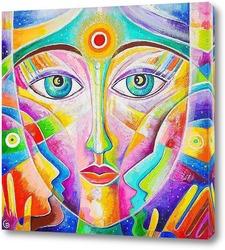 Картина Мать вселенная