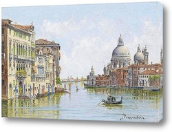 Картина Догана и Сан Джорджо, Венеция