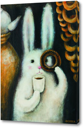 Картина Заяц с баранкой