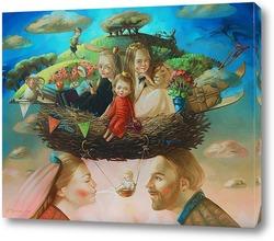 Картина Семейное гнездо