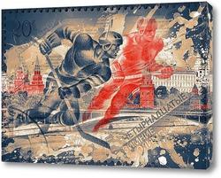 Постер Хоккейная сборная
