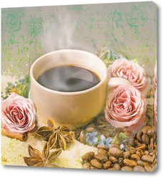 Постер Кофейный аромат