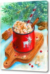 Постер Новогоднее угощение