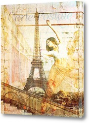 Постер Балерина в Париже
