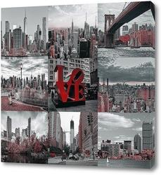 Постер Виды Америки