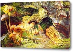 Постер Лесная сова