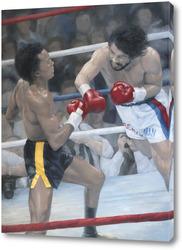Постер На ринге Леонард - Дюран