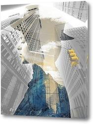 Постер Проспект в Нью-Йорке