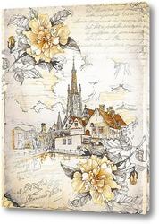 Постер Церковь Богоматери в Брюгге