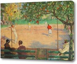 Картина Теннис, Отель Beau Site, Канны