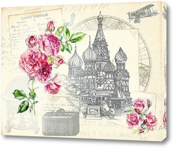 Постер Храм Василия Блаженного
