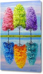 Каждое дерево имеет свою яркую жизнь