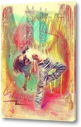 Постер Hip-hop street