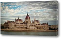 Постер Будапешт,здание парламента