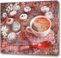 Постер Кофе и кексы