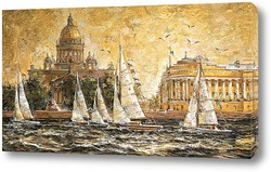 Картина Невский ветер