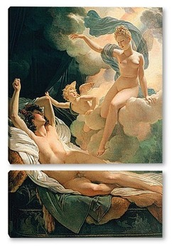 Модульная картина Морфей и Ирида