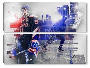 Модульная картина Хоккейная команда