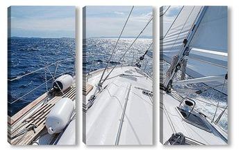 Модульная картина Yacht-13040920