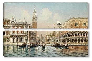 Модульная картина Венецианские сцены