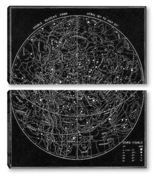 Модульная картина Звездные_78