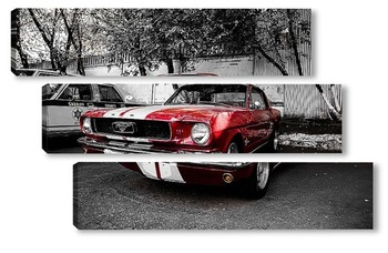 Модульная картина Ford Mustang