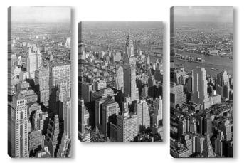 Модульная картина Нью Йорк 1932 г.