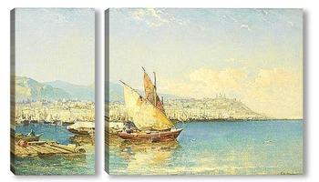 Модульная картина Генуя