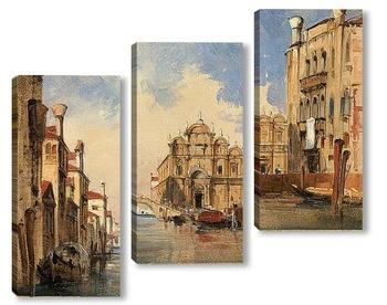 Модульная картина Сан марко,Венеция