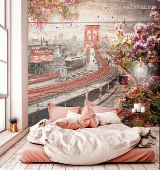 Фотообои Бруклинский мост 1903 год