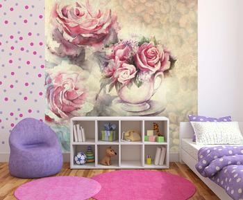 Фотообои Сашка с розами