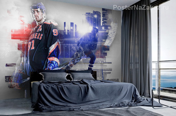 Фотообои Хоккейная команда