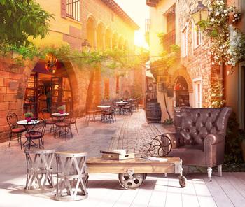 Фотообои Уютное Кафе Испании
