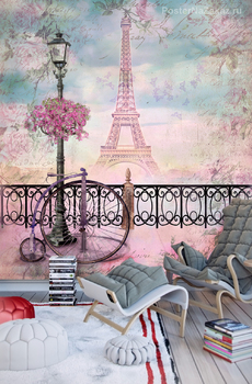 Фотообои Романтичный Париж