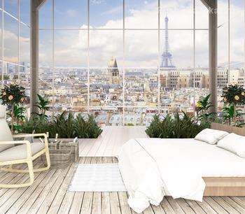 Фотообои Панорама Парижа