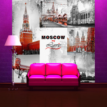 Фотообои Москва с любовью