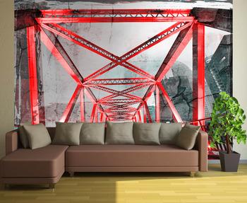 Фотообои Стальная конструкция моста