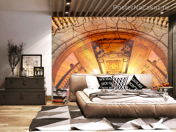 Фотообои Архитектурные элементы. Вид сверху