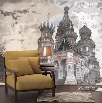 Фотообои Храм Василия блаженного